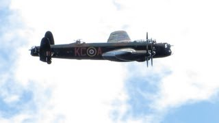 Download Dambusters Anniversary flypast (70 years) at Brooklands - birthplace of the bouncing bomb Video