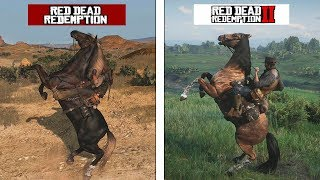 Download Red Dead Redemption VS Red Dead Redemption 2 | Animations Comparison | Comparativa de animaciones Video
