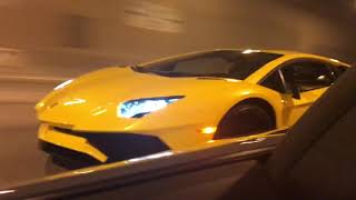 Download Aventadors in the i90 Tunnel Video