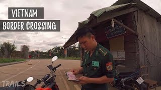 Download Crossing Vietnam Border to Cambodia on a Motorbike Vietnamese Plates Video
