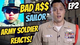 Download U.S. ARMY SOLDIER Reacts: US NAVY Boot Camp Making a Sailor: Episode 2 ″What did I get myself into?″ Video