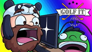 Download Golf-it Funny Moments - Nogla Sabotages the Whole Game! Video