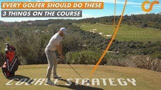 Download EVERY GOLFER SHOULD BE DOING THESE 3 THINGS ON THE GOLF COURSE Video