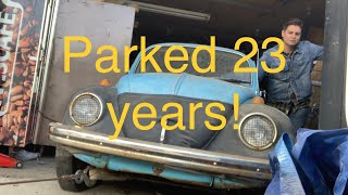 Download Left for 23 years in a garage! VW beetle with heart of a racer! Video