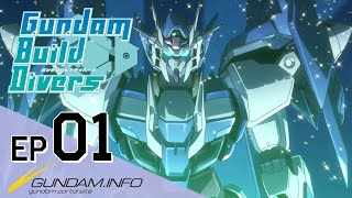 Download Gundam Build Divers-Episode 1: Welcome to GBN (EN,TW,KR,FR,IT,TH sub) Video
