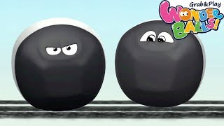 Download Colors With Running Squishy Balls Vs Funny WonderBalls Creative Fun For Kids Video