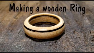 Download Making a wooden Ring - Woodturning // How To Video
