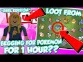 Download SUICUNE!? LOOT FROM BEGGING 1 HOUR FOR POKEMON IN POKEMON BRICK BRONZE! *Girl Edition* / DefildPlays Video