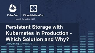 Download Persistent Storage with Kubernetes in Production - Which Solution and Why? [I] - Cheryl Hung Video