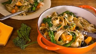Download Anne Burrell's Butternut Squash Pappardelle Is Delicious Video