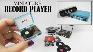 Download DIY Miniature: Retro Record Player Video