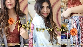 Download Huge Fall Try-On Haul | Free People, Urban Outfitters, & more! Video