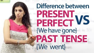 Download Present Perfect tense (We have gone) and Simple past tense (we went) – English Grammar Lesson Video