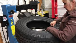Download Mom Replaces Her Truck Tires! Video