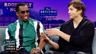 Download 'Punk'd' Brought Ashton Kutcher & Sean ″Diddy″ Combs Together Video