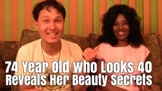 Download 74 Year Old who looks 40 Reveals Her Beauty Secrets that Make You Look & Feel Younger Video