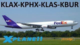 Download X-Plane 11 | Cargo Runs!! | B767 B757 B737 | PilotEdge | L.A., Phoenix, Las Vegas & Burbank!! Video