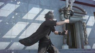 Download Final Fantasy XV - Great Sword Advanced Tech [combos] Video