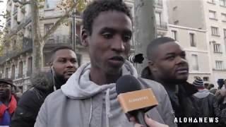 Download Esclavage en Libye : Amine, 16 ans, témoigne à Paris ! Video