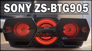 Download SONY ZS-BTG905 Bluetooth-Boombox - REVIEW (Deutsch) | ENGLISH SUBTITLES Video