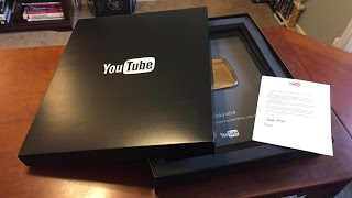Download Unboxing My Gold Play Button! One Million Subscribers Strong! Video
