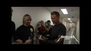Download Metallica - Meet And Greet [Prague May 7, 2012] HD Video