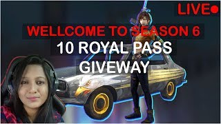 Download PUBG MOBILE - 10 ROYAL PASS GIVEAWAY - STAY ACTIVE TO WIN RP Video