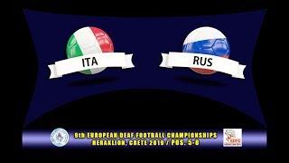 Download ΙΤΑΛΙΑ - ΡΩΣΙΑ / ITALY - RUSSIA (EDFC2019, POS 5-8) Video