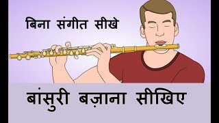 Download Flute for beginners Part-1 !! बिना संगीत सीखे बांसुरी सीखिए !! Video
