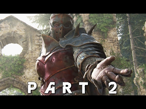 FOR HONOR Walkthrough Gameplay Part 2 - Blackstone (Knight Campaign)