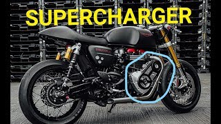 Download SUPERCHARGER Engine Motorcycles Video