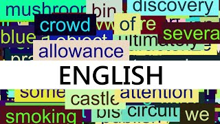 Download 3000+ Common English Words with Pronunciation Video