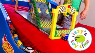Download Hot Wheels Cars for Kids | Hot Wheels Bed with Fast Lane and KidKraft! Fun Videos for Children Video