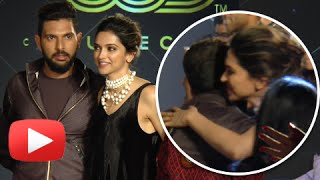 Download Deepika Padukone Hugs And Praises Her Ex Yuvraj Singh Video