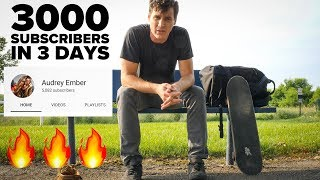Download 3000 Subscribers in 3 Days has Little to do with Luck - Audrey Ember Rocket Video