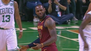 Download LeBron James Travels & Can't Believe The Ref Called it, Gets Trolled By Celtics Fan! Video