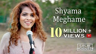 Download Shyama Meghame | ശ്യാമമേഘമേ | Adhipan | Malayalam Cover | Sanah Moidutty Video