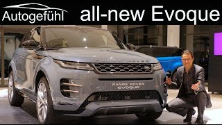 Download All-new Range Rover Evoque REVIEW Exterior Interior 2019 2020 - Autogefühl Video