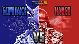 Download MODERN COMBAT 5: 1 VS 1 SoldierGirL vs GomitaxX Video