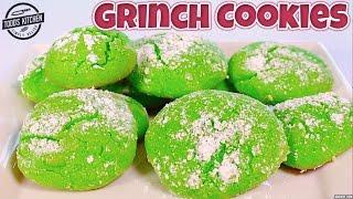 Download Grinch Cookies - Christmas Dessert Recipe Video