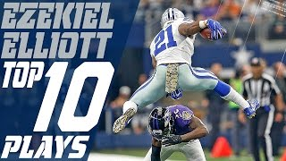 Download Ezekiel Elliott's Top 10 Plays of the 2016 Season | Dallas Cowboys | NFL Highlights Video