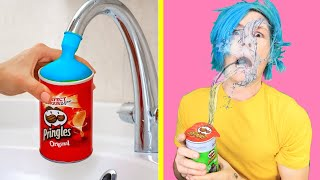 Download Trying TOP SIBLING PRANKS! Trick Your Sisters and Brothers Funny DIY Pranks by 123 GO! Video