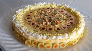 Download #سلطة مغربية جديد 🤗سلطة تُحْفَة!!بشكل راقي للمناسبات غير مكلفة لذيذة ومغذية بدون أرز مذاق رائع جدا Video