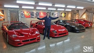 Download The Best Secret Underground Supercar Garage! Video