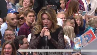 Download SHANIA TWAIN - Swinging With My Eyes Closed & Life's About To Get Good (Live, Today Show) Video