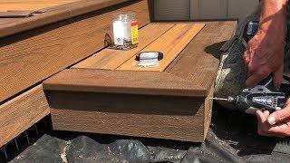 Download Installing Trex Transcend Composite Decking on the Steps – Part 3 Video