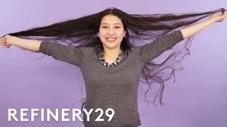 Download Why I Shaved Off 33 Inches Of Hair | Hair Me Out | Refinery29 Video