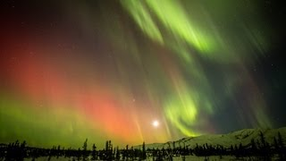 Download HD Northern Lights timelapse, Eureka, Alaska March 2013 Video