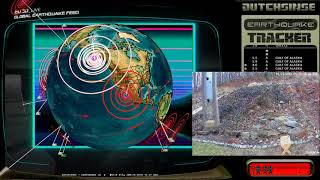 Download 1/23/2018 - Extremely Large M8.3 (M7.9) Earthquakes strikes coast of Alaska Video