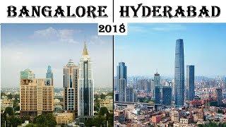 Download Bangalore vs Hyderabad Silicon valley of India vs Hitec city Bengaluru city vs Hyderabad city 2018 Video